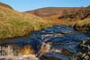 Photograph from upper Derwent Valley - infant river derwent
