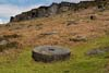 Photograph from Stanage Edge - millstones