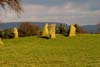 Photograph Nine Stones Close stone circle  in Derbyshire
