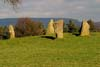 Photograph from Nine Stones Close stone circle